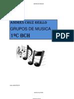 11 Andres Cruz 11 Trabajo Excel Grupos de Musica