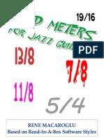 Odd Meters for Guitar Jazz