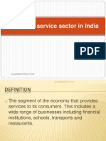 Service Sector and Indian Ecomnomy