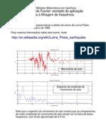 05-Aplicação de TRANSFORMADA DE FOURIER