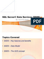 SQL Server Data Services - SSDS