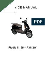 Sym Fiddle125 Service Manual