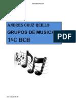 11 Andres Cruz 11 Trabajo Excel Grupos de Musica PDF