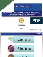 Ambiente da Contabilidade, Princípios e Variações - Palestrão