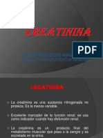.Creatinina Exp