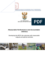 Measurable Performance and Accountability Delivery Outcome 11