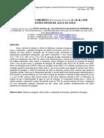 AVALIAÇÃO DO MILHETO (Pennisetum glaucum (L.) B. R.) SOB