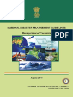 NDMA Guidelines on the Management of Tsunamis - Naresh Kadyan