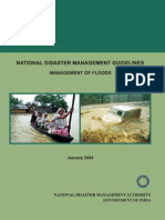 NDMA Guidelines on the Flood  - Naresh Kadyan