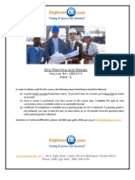 CE0073 - Site Planning and Design