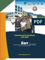 MSIT Brochure 2011