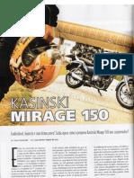 Revista Mirage 150 Motociclismo#154-Outubro 2010