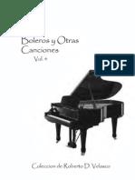Boleros Y Otras Canciones Vol. 4
