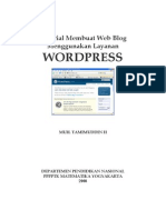 Tutorial Word Press 5
