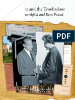 The Knight and the Troubadour – Dag Hammarskjöld and Ezra Pound