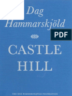 Castle Hill - by Dag Hammarskjöld