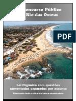 Lei Orgânica - Rio das Ostras