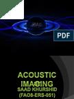 Acoustic Imaging Log