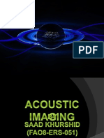 Acoustic Imaging Log