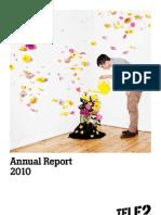 2010-Annual Report Tele2 AB Publ