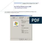 Configuracao de FTP No Windows Server 2003