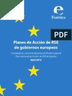 Informe Planes Rse Foretica