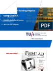 Computational Building Physics Using COMSOL