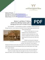 Walk Through South Texas History