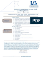 Final Programme African Governance 2012