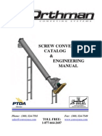 Screw Conveyor Catalog