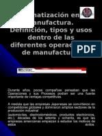 La Automatizacion en La Industria