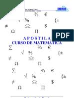 Apostila de fatoração - matematica