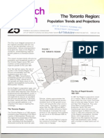 Toronto Planning Research Bulletin #25, February 1985