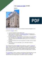 Constitución de las Cortes de Cádiz de 1812