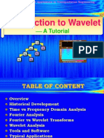 Introduction to Wavelet a Tutorial - Qiao