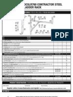 Dewalt Dcslr760 Contractor Steel Ladder Rack Instructions