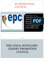 The Gem & Jewellery Export Promotion Council