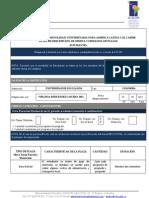 UNILLANOS Formulario Oferta de Plazas 13- 04