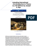 Understanding International Conflicts an Introduction to Theory and History 7th Edition by Joseph s Nye - 5 Star Review