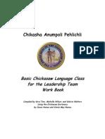 Chickasaw Language Work Book