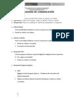 Definiciones Operacionales de Comunicacion