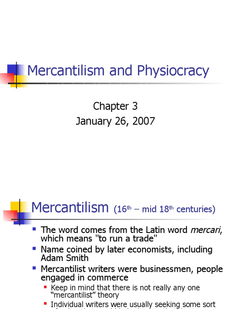 What is mercantilism theory. How did mercantilism affect ...