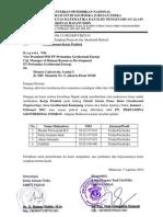 Surat KP PT Pertamina Geothermal Energi (Kantor Pusat)
