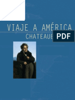 Chateaubriand, Viaje a América