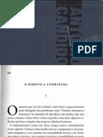 CANDIDO, Antonio - O direito à literatura In Vários Escritos