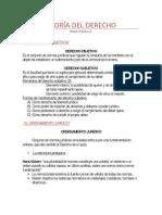 Mini resumen Teoria Del Derecho- Maximo Pacheco