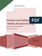 Proyecto Final de Estructuras de Mamposteria