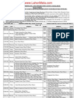 Bise Fsd Date Sheet 2012 Www-lahorimela-com