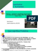 Proteina cuantitativa