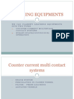 Leaching Equipments